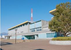 海老名運動公園内、総合体育館